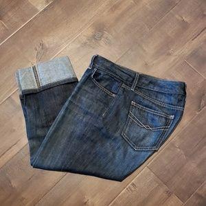 Gap Cuffed Capris Jeans